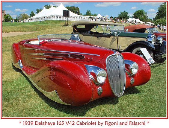 1939 Delahaye 165 V-12 Cabriolet