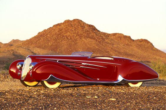 1939 Delahaye Type 165 Silodrome