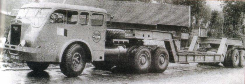 1939 WILLEME Tracteur fait a un exemplaire, 12 cyl, 225 cv.