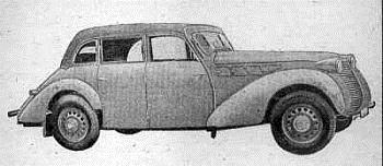 1940 Borgward Hansa 2300 (6 cyl, 2247cm3, 55 KM)