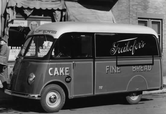 1940 Delahaye 163 Friehöfer Truck