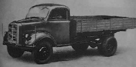 1942-50 B 3000. The B 3000 was the first truck that left the factory after WW II