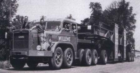 1945 WILLEME aprés le conflit de 225 cv pour les Transports exceptionnels au Portugal