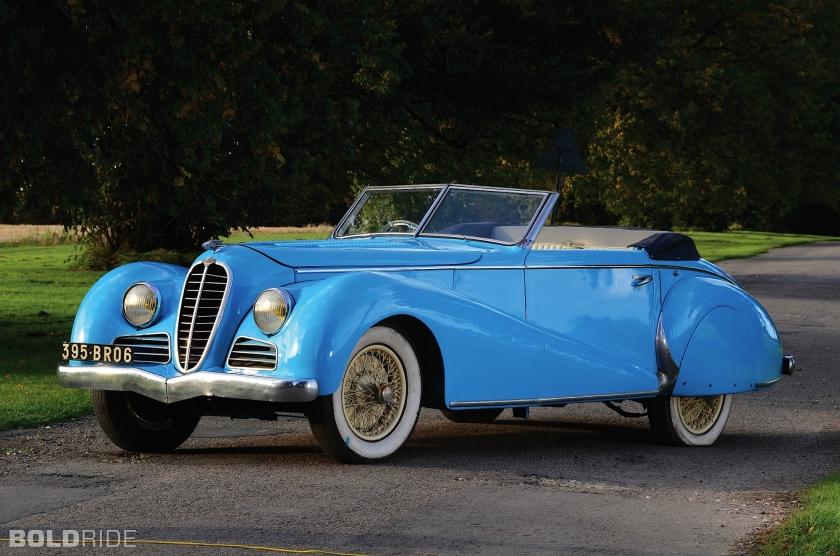 1947 Delahaye 135 M Cabriolet 2