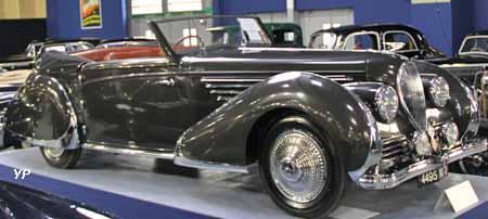 1947 Delahaye 135 MS cabriolet Franay