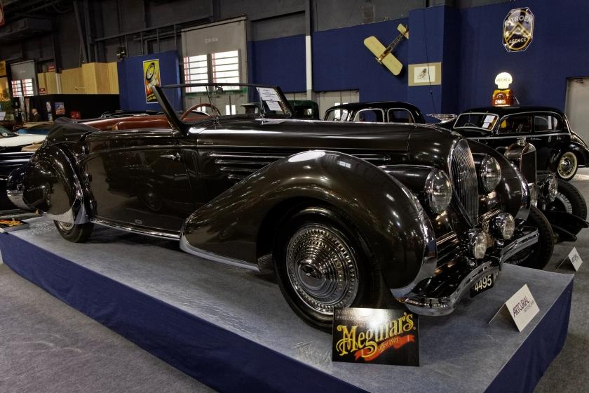 1947 Delahaye 135 MS Cabriolet par Franay - 1947