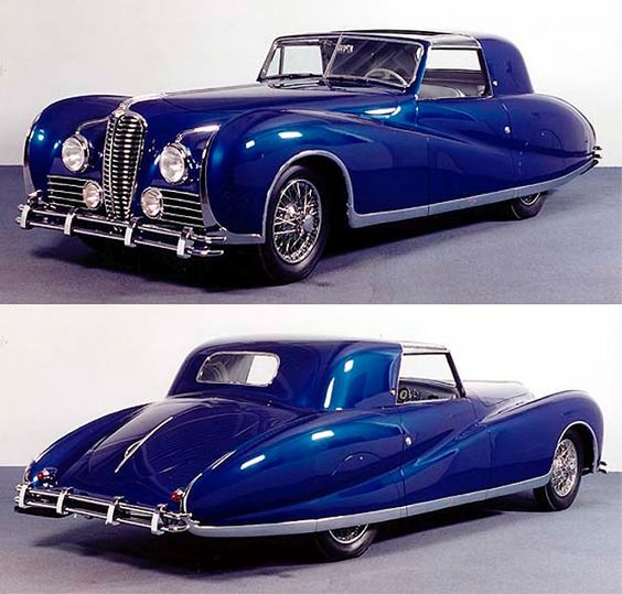 1947 Delahaye 175S Aerodynamic Coupe