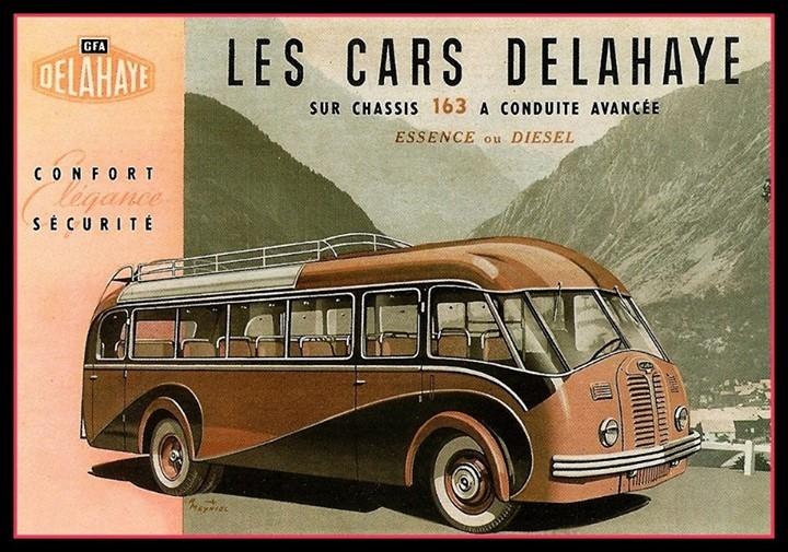 1947 Delahaye CFA 163 essence ou diesel