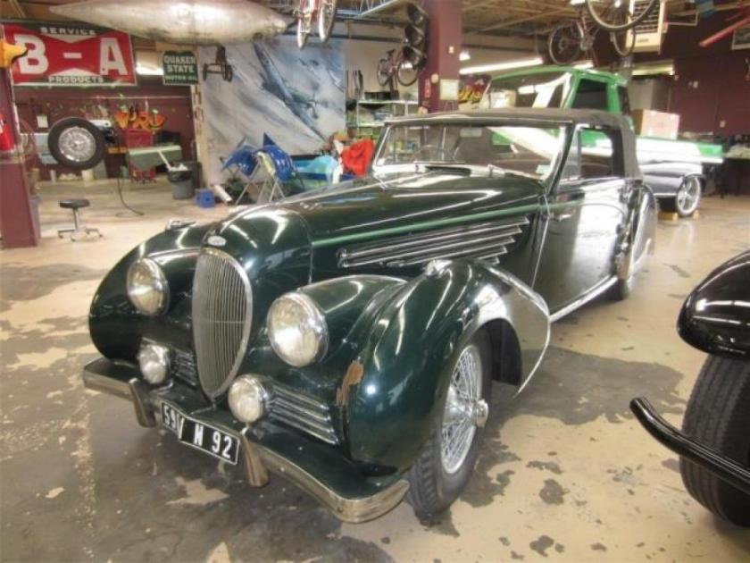 1948 Delahaye 135 MS Cabriolet by Franay