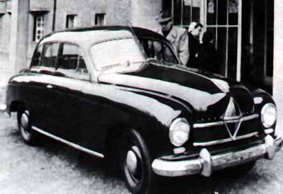 1949 Borgward Hansa 1500 a