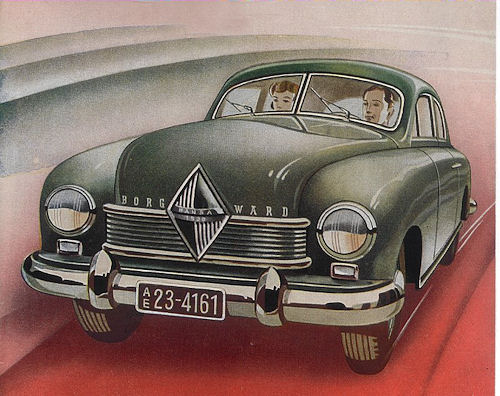 1949 Borgward Hansa 1500