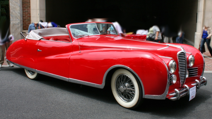 1949 Delahaye 178 Drophead Coupé, once owned by Elton John.