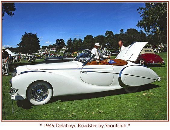 1949 Delahaye Roadster