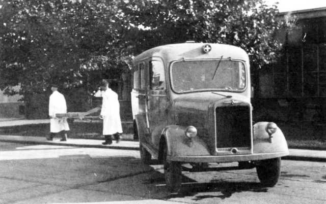 1950 Borgward b1000-krankenwagen
