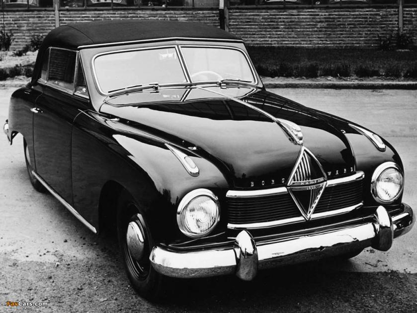 1950 borgward hansa 1500 1