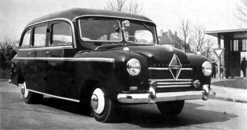 1950 Borgward pullmann-kleinbus