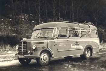 1950 Borgward Reisebus