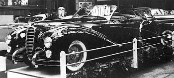 1950 Delahaye 135 saoutchik paryz