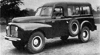 1950 Delahaye 135m terenowy