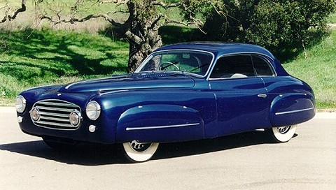 1950 Delahaye 235M Pillarless Saloon by Ghia