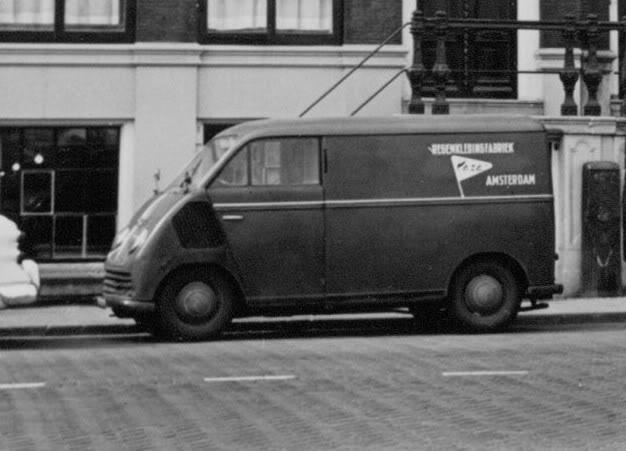 1950 DKW regenkleding