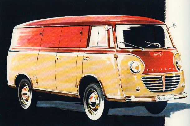 1950 Goliath Express 1100 LieferWagen