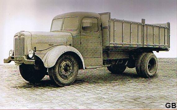1950 Willème L10, 6 cyl, 150 cv sous licence Deutz