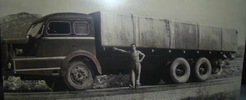 1950 WILLEME K 115 de l' équipe ONATRA citerne cubique