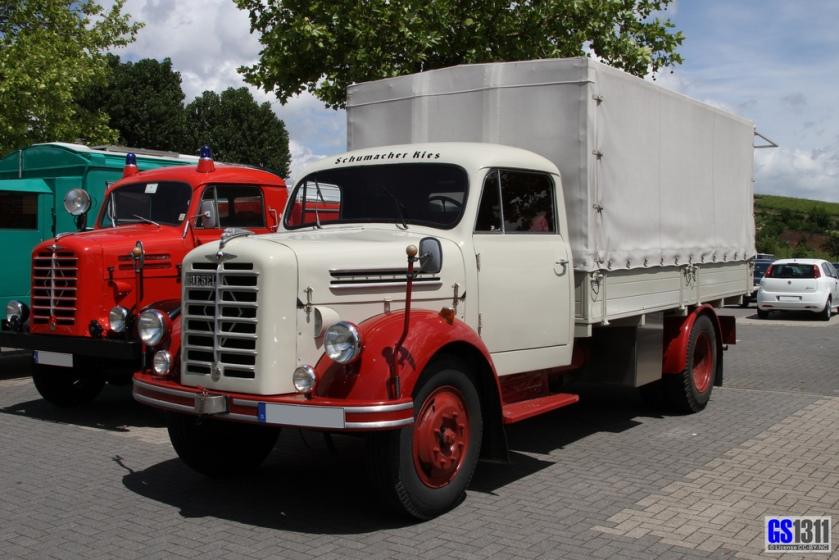 1951-61 Borgward B 4000 - B 4500