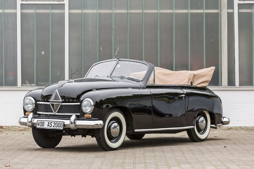 1951 Borgward Hansa 1500 Cabrio Luxus-Cabrios-der-fuenfziger-Jahre
