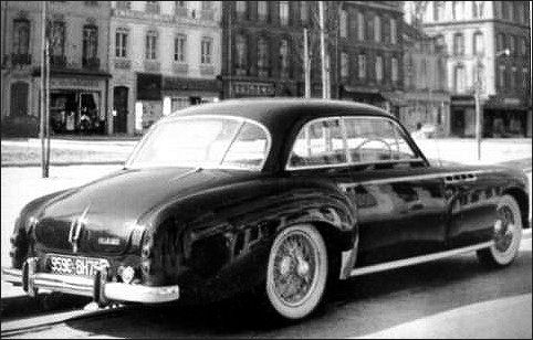 1951 Delahaye 235-coach-chapron