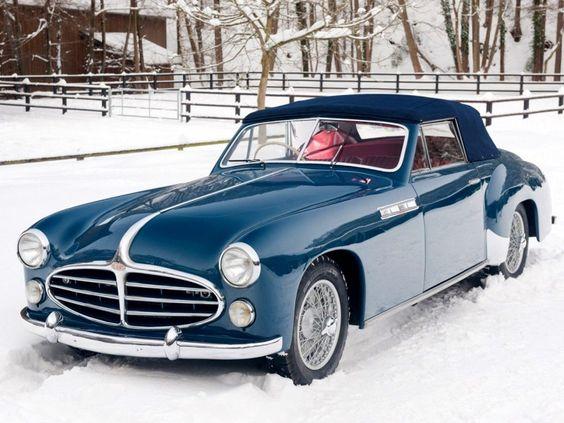 1951 Delahaye 235 M Chapron Cabriolet a