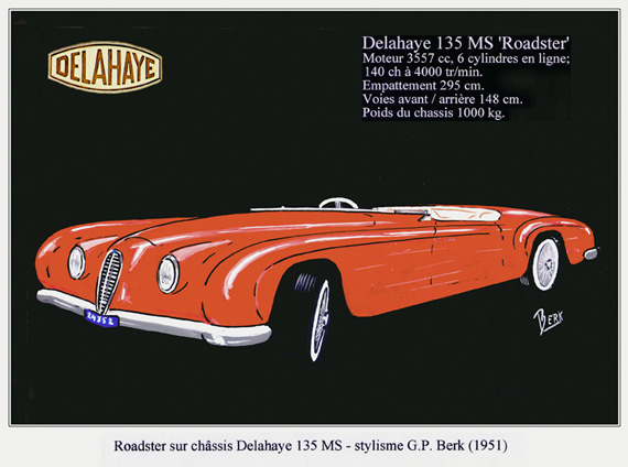 1951 Delahaye Ad