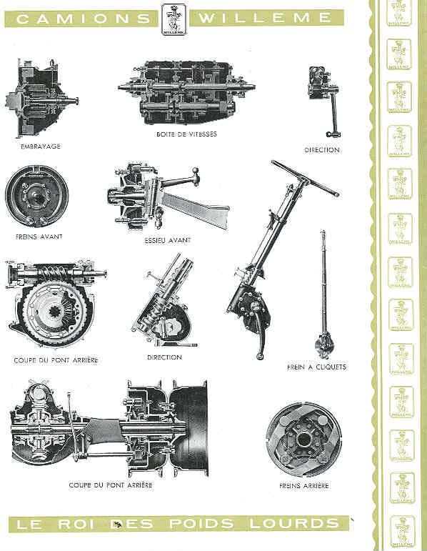 1951 Willeme S10-10-Ton-Truck-Sales-Brochure a