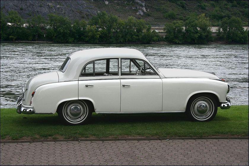 1952-54 Borgward Hansa 1800 (1952–1954)