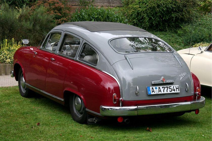 1952-55 Hansa 2400 mit Fließheck