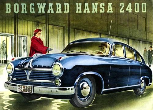 1952 Borgward 2400