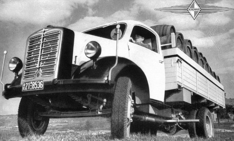 1952 Borgward 3000 1