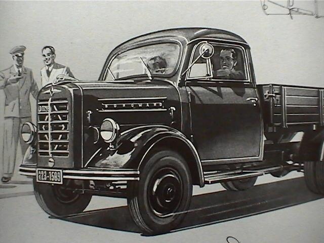 1952 Borgward B 1500 - B 511