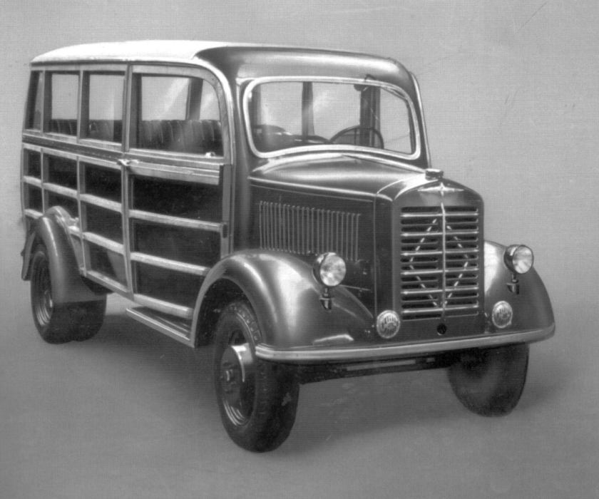 1952 Borgward b1000-1