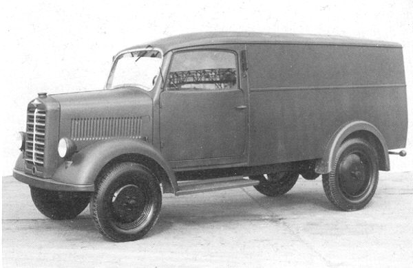 1952 Borgward B1000