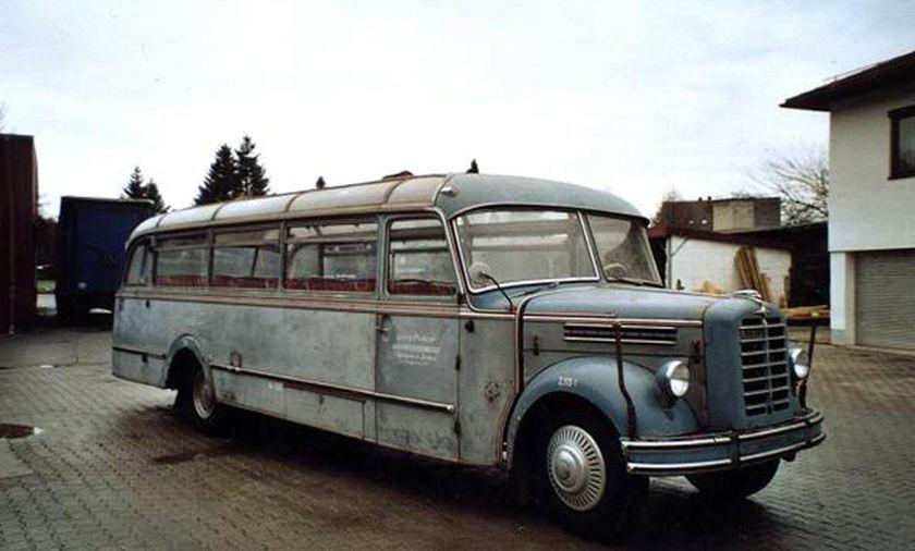 1952 Borgward BB 5.3 Diesel 4862cc