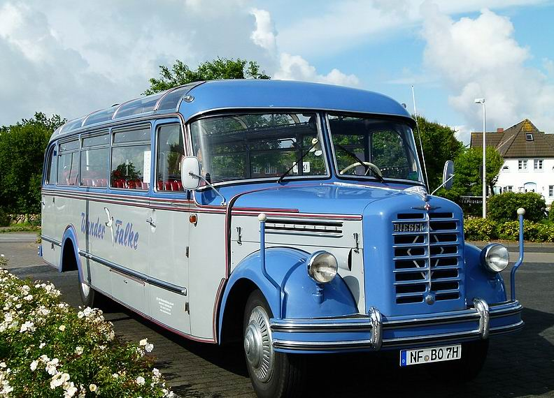 1952 Borgward BO 4000 Bus