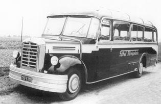 1952 Borgward BO 4000 Neoplan Diesel 5-6 cyl 4962cc