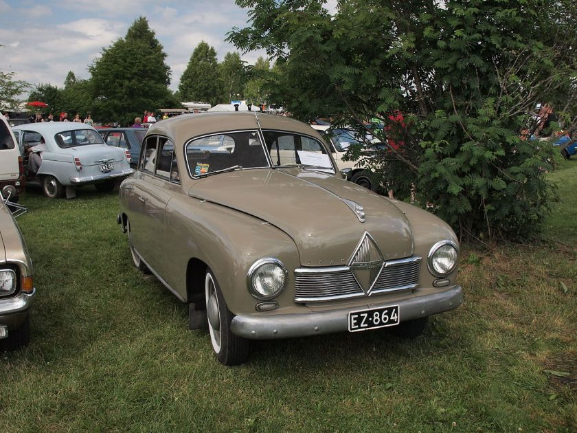 1952 Borgward Hansa 1500 vuodelta