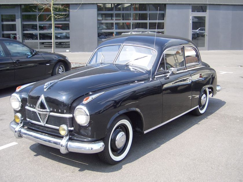 1952 Borgward Hansa 1800 (2-door), 1952-1954