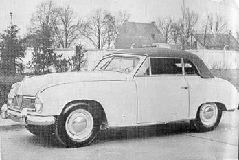 1952 borgward hansa cabrio 1500