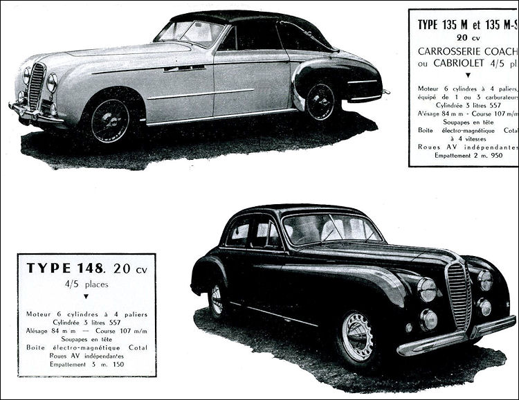 1952 Delahaye 148
