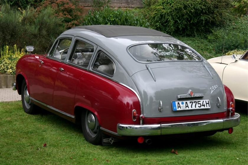 1953-55 Borgward Hansa 2400, Isabella, P 100, Arabella