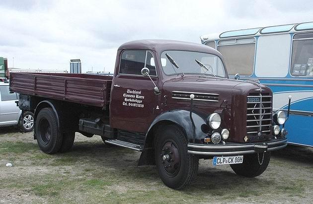 1953 Borgward B 4500 Pritschen-Lkw